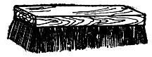 Рис. 53. Щетка для держания волос