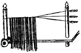 Рис. 55. Рама для вплетания волос