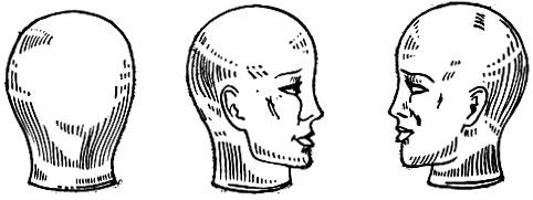 Рис. 57. Болванки для изготовления париков
