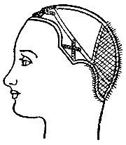 Рис. 68. Монтюр парика