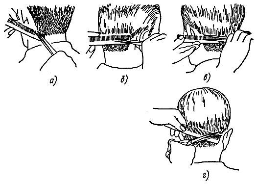 Как правильно стричь волосы ножницами мужчину