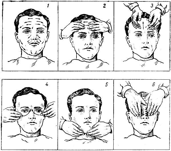 нанесения крема на лицо и