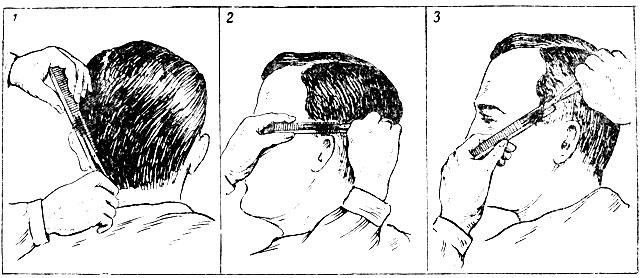 Схема движения ножниц и