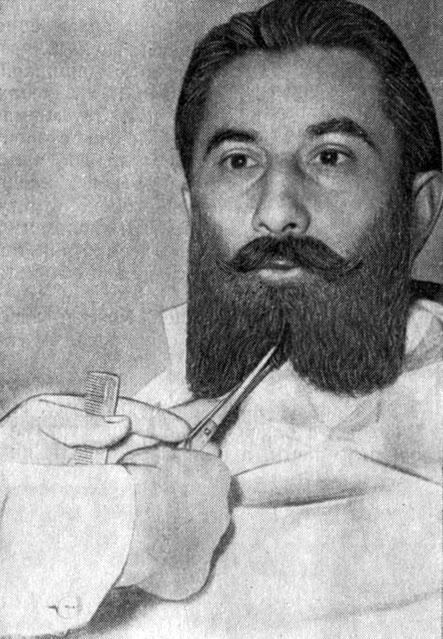 исскуство стрижки бороды: