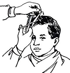 Как филировать волосы обычными ножницами